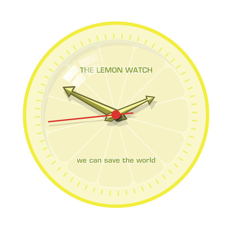 THE LEMON WATCH Save Yellow by THE-LEMON-WATCH