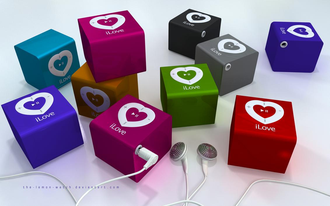 iLove Cube - Scroll it by THE-LEMON-WATCH