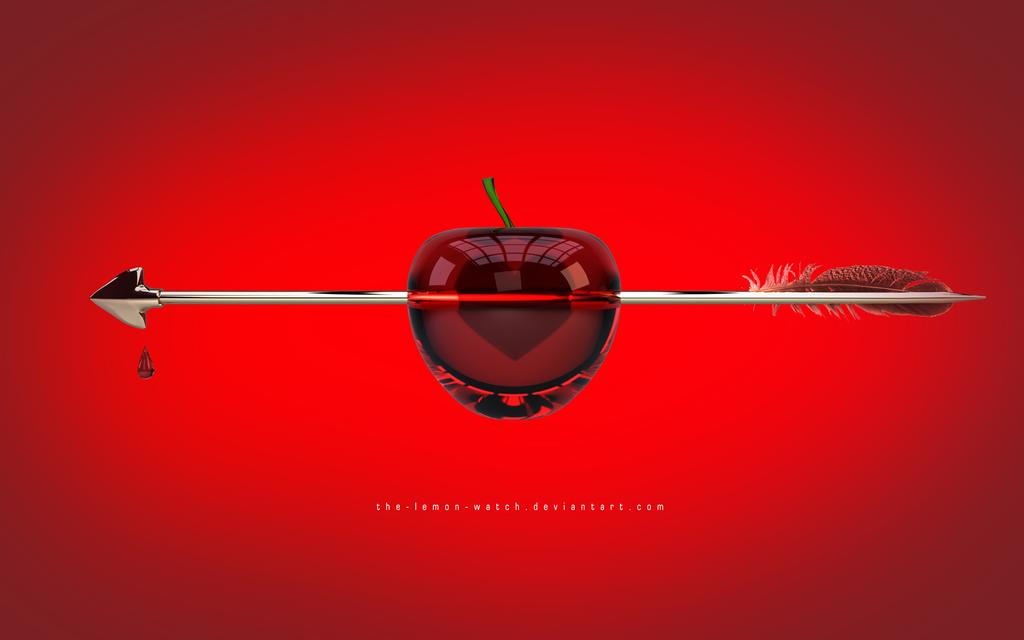 Fallen in love - Glass Apple by THE-LEMON-WATCH