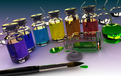 Glass Rainbow Cherries Secrets by THE-LEMON-WATCH