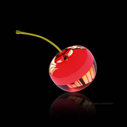 Red Glass Cherry