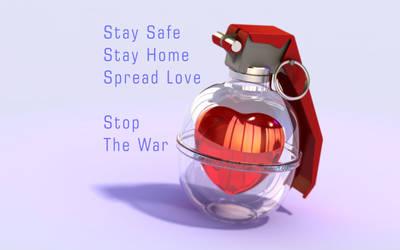Spread Love - My War - Love Grenade