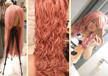 Rose quartz wig by chiruruzuhenu