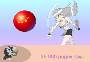 25000 Pageviews by OuroborosI