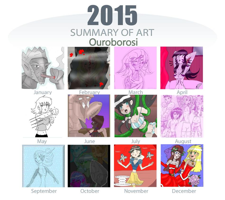 2015 Art Meme  by OuroborosI