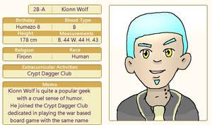 Kionn Wolf by OuroborosI