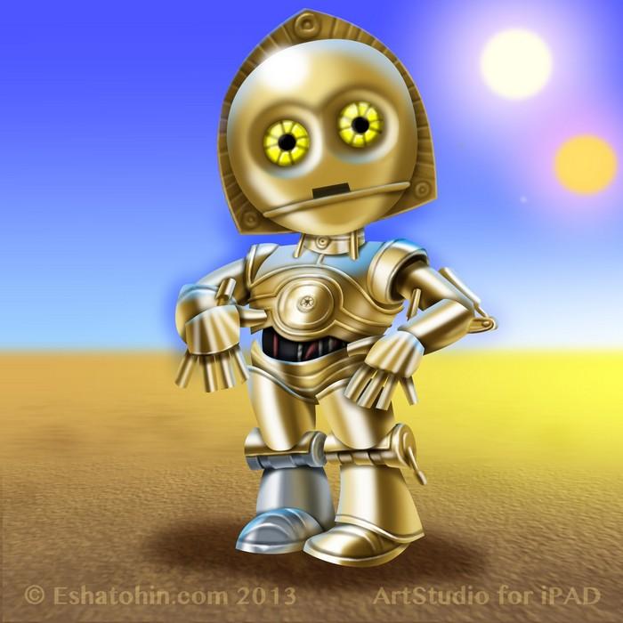 C3PO by shatos