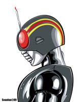 Kamen Rider Black by seanlon