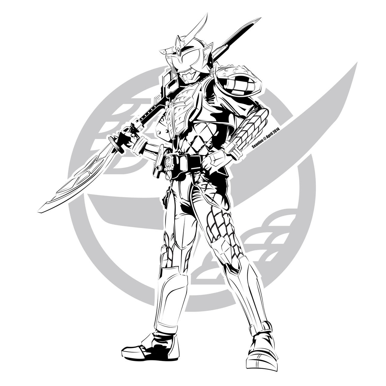 Kamen Rider Coloring Pages