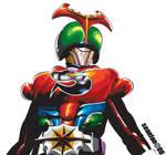kamen rider strong