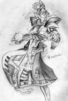 Starcraft: High Templar by CrabTasterMan