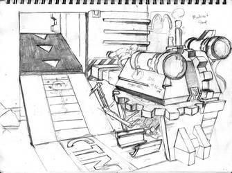 Machine Shop Concept by CrabTasterMan
