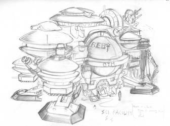 Science Facility by CrabTasterMan