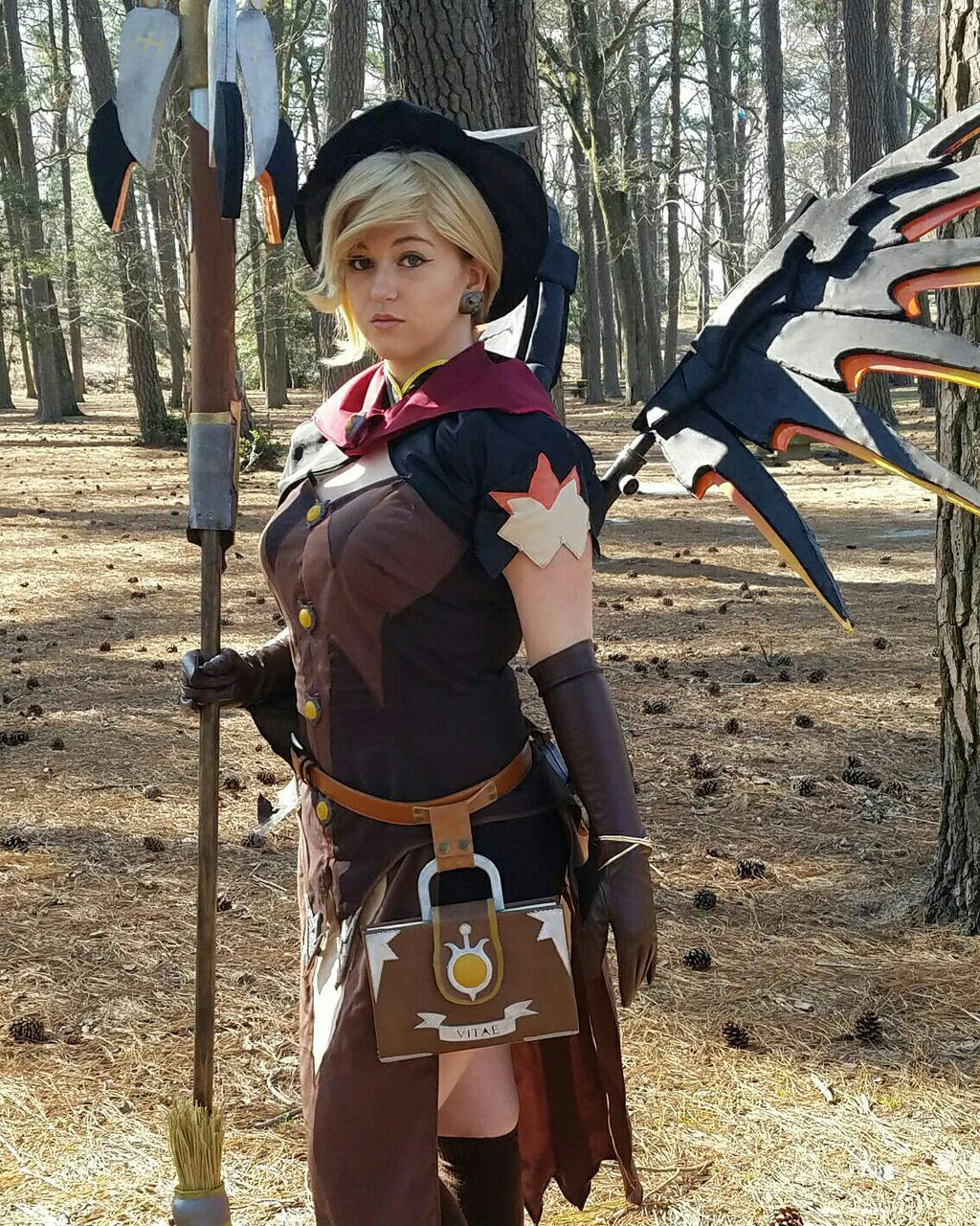 Overwatch Witch Mercy Cosplay by fanbustion on DeviantArt