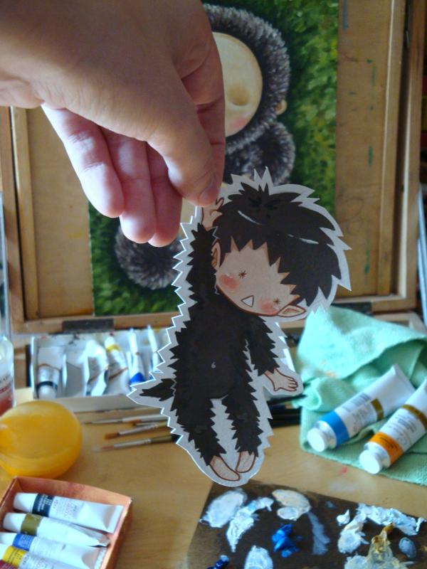 Paper Child: Hedgehog by tiramisu-soup