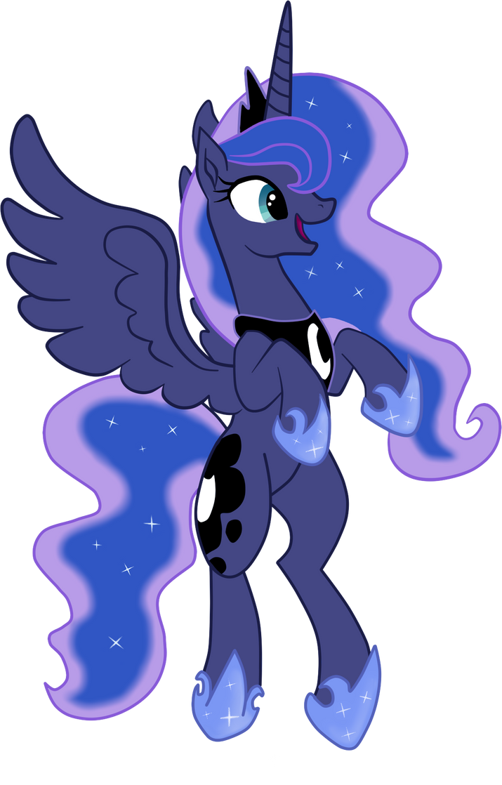 Luna by Denezer