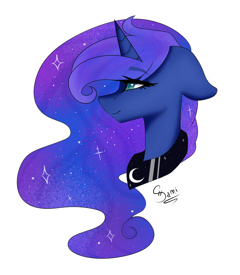 [Open Collab] Princess Luna by PrincessSnowFreeze