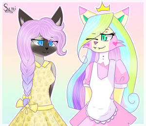 [Contest Entry] Pastel Cats! by PrincessSnowFreeze