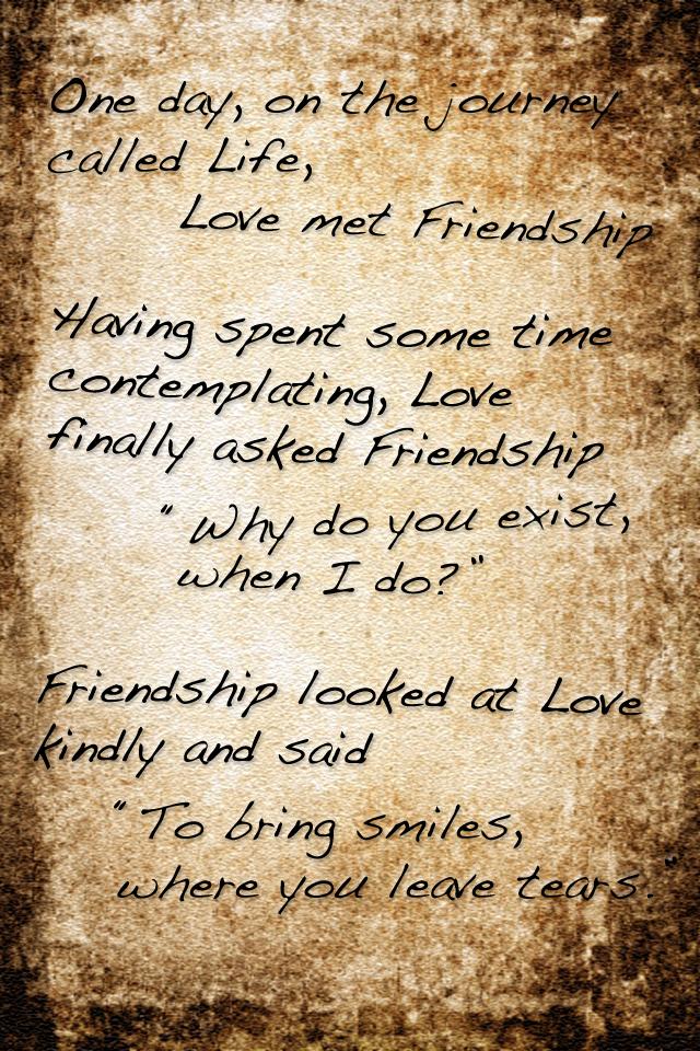 Love meets Friendship by hAtchlinG84 on DeviantArt