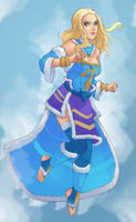 Rylai the Slayer by g138