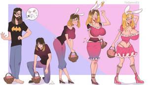 Easter Bimbofication
