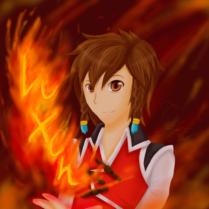 Fire by Violet-Tarita