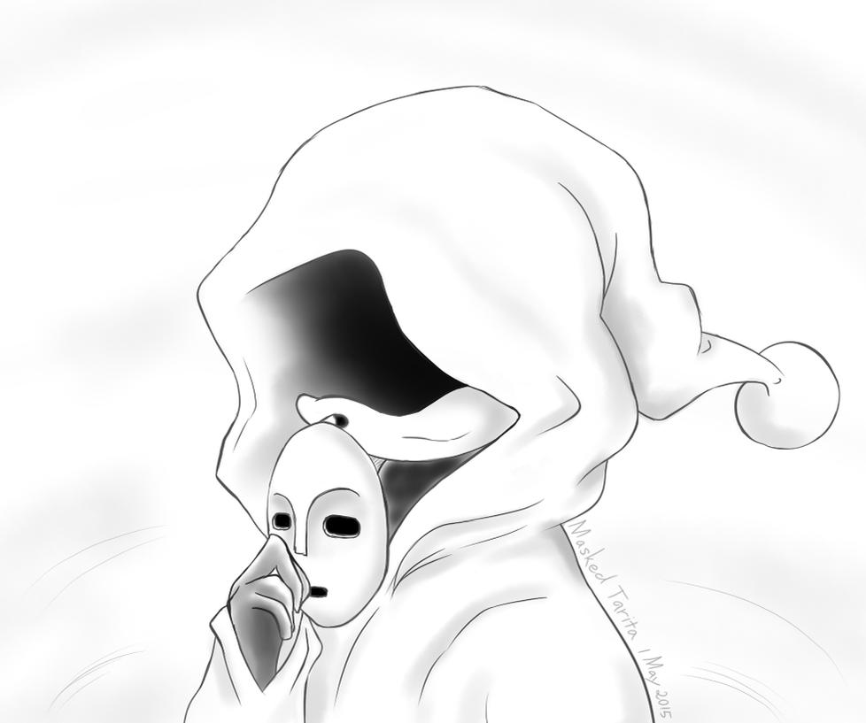 Masked Echidna by Violet-Tarita