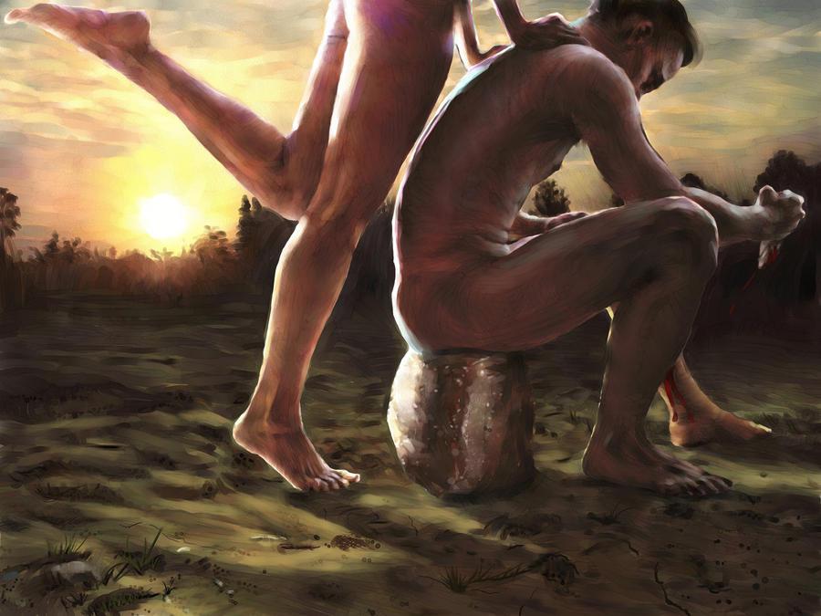 Adam and Eve by KsiazeKrzysztof