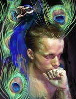 The Peacock Prince by RabidBlackDog