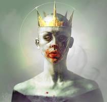 The King is Dead by RabidBlackDog