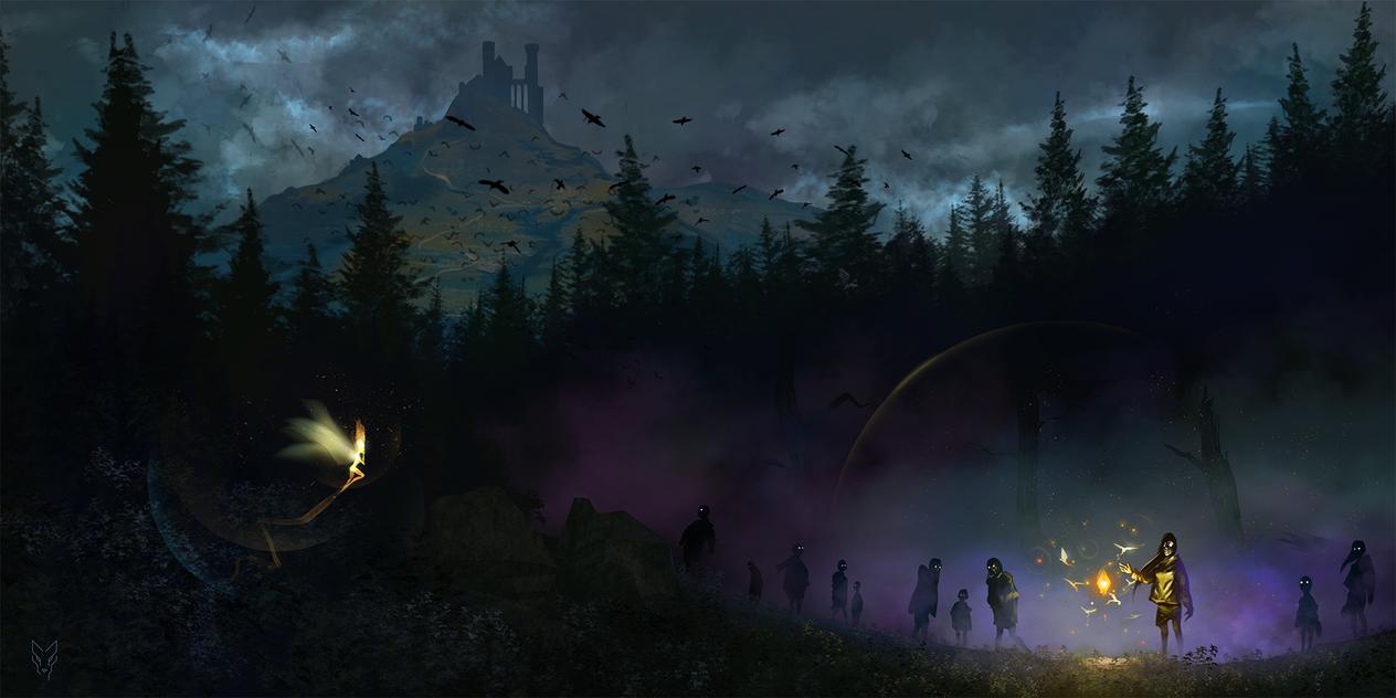 Ghoul's Curiosity by RabidBlackDog