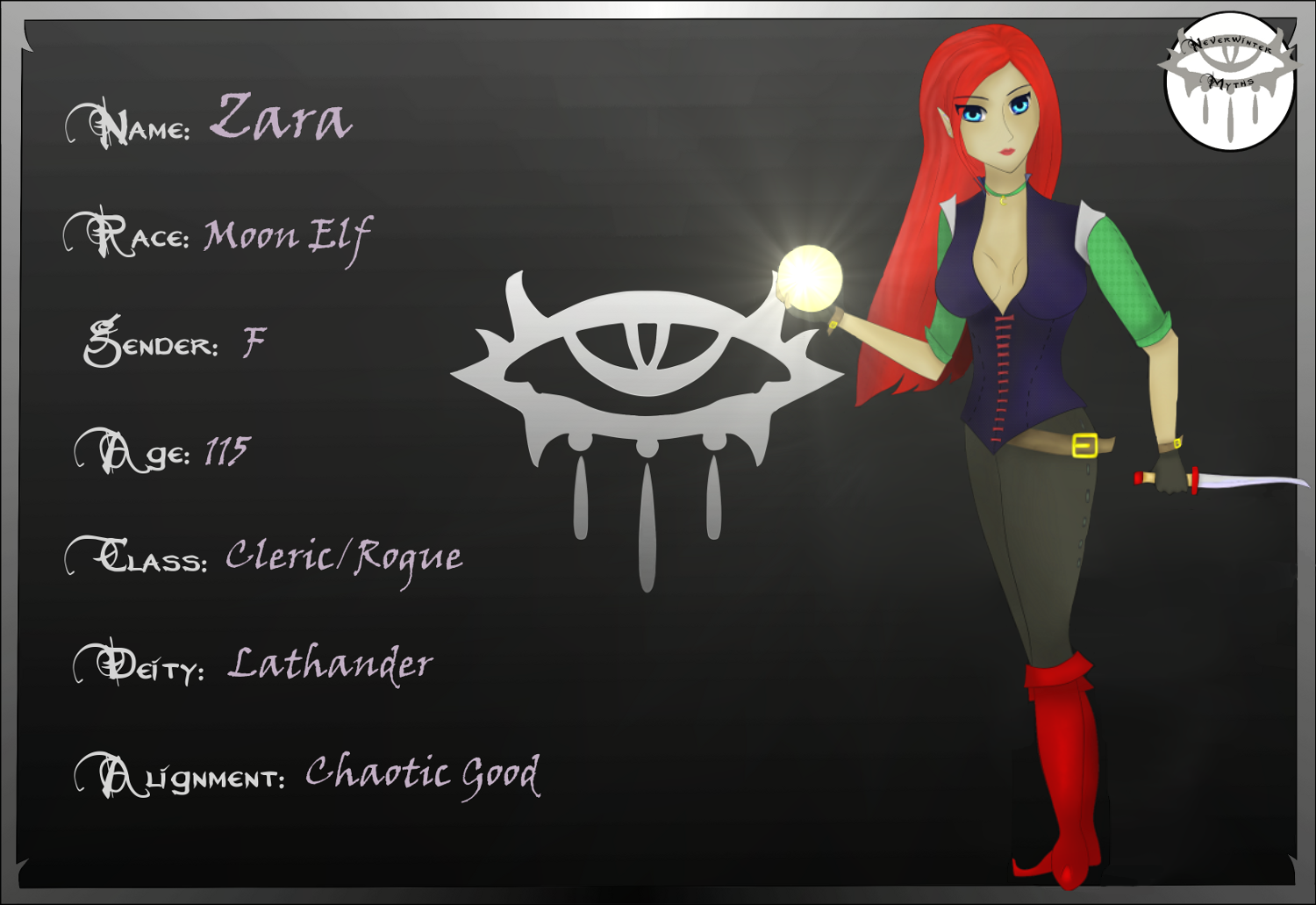 Zara - character sheet by Zara-Arletis