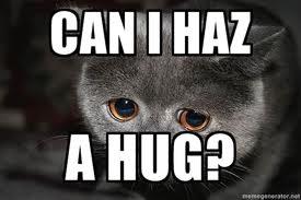 Can I haz a hug? by BohemianWaffle