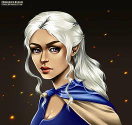 Danaerys Targaryen by Ksenq