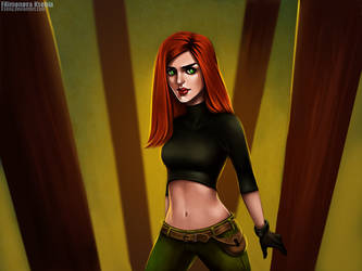 Kim Possible by Ksenq