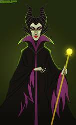 Maleficent by Ksenq