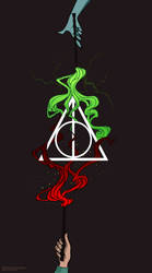 Deathly Hallows by Ksenq