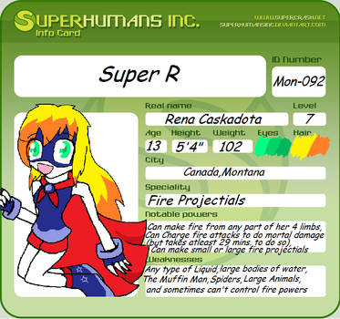 Re: Super R by Glir29