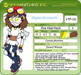 Super ID: Super Screech by Glir29