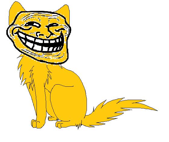 кот тролль картинка