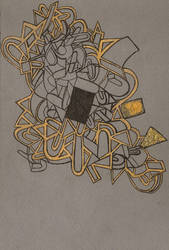 all that is gold and gray. by triscuitbox