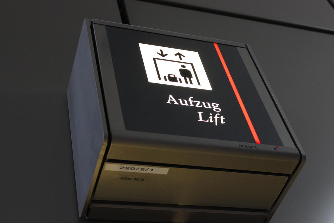 Aufzug Lift by WilburMercer