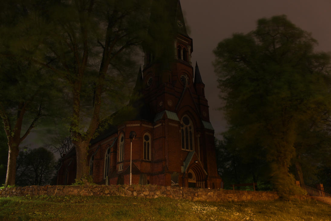 church by WilburMercer