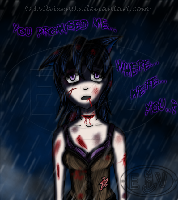 YoU pRoMiSeD mE... by EvilVixen05