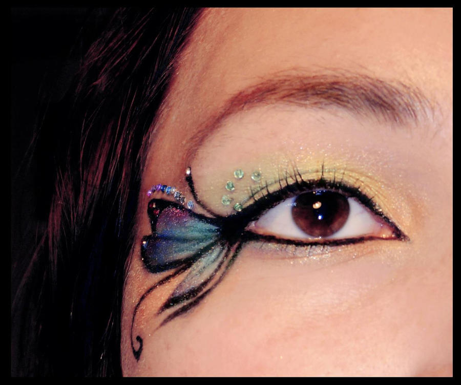 Artistic Makeup Butterfly Imgkid