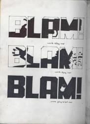 Sin City BLAM BLAM BLAM by JuriKnauth