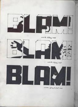 Sin City BLAM BLAM BLAM