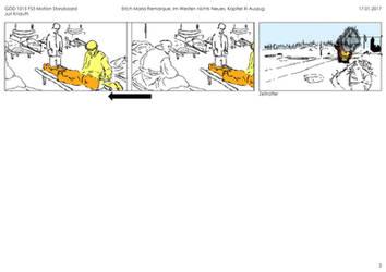 Storyboard, Im Westen nichts Neues, Page 3