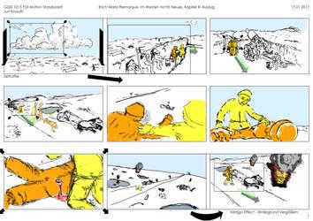 Storyboard Im Westen nichts Neues Page1 by JuriKnauth