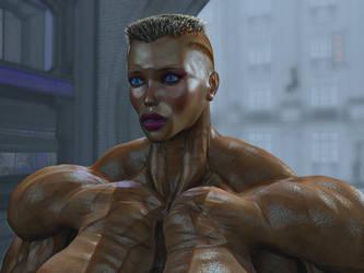 Lady Terminator by alessandro2012